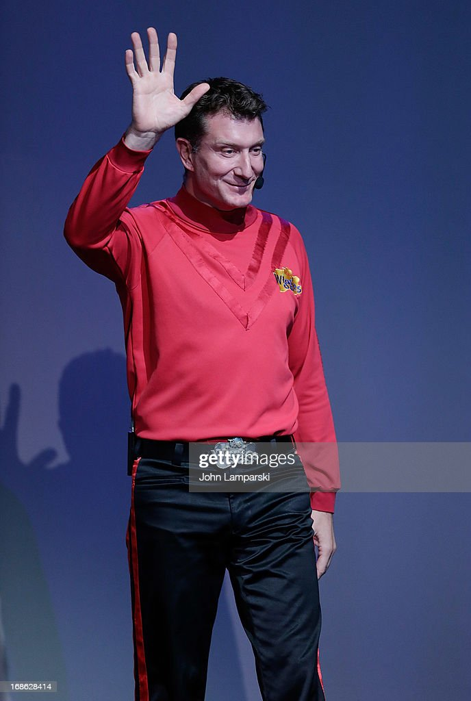 Simon Pryce of the Wiggles performs at the Apple Store Soho on May 12, 2013 in New York City.
