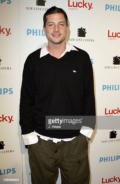 Simon Rex during 2005 Park City 'Upside of Anger' Dinner and After Party hosted by Lucky Magazine at Village at the Lift in Park City Utah United...