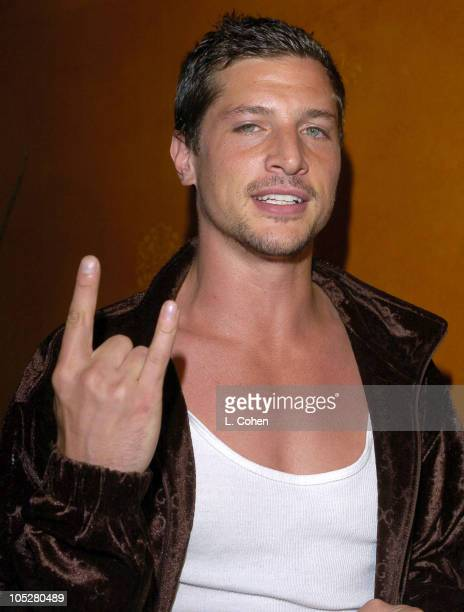 Simon Rex during Grand Opening of GQ Lounge at Forbidden City Los Angeles Inside at Forbidden City in Hollywood California United States
