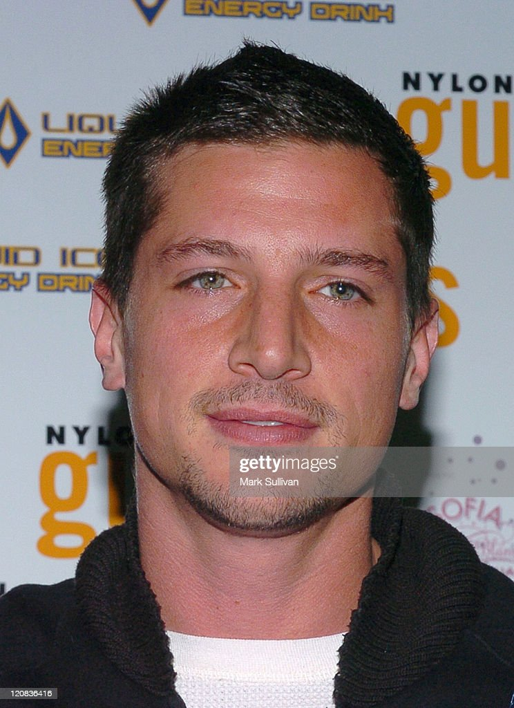 Simon Rex during Nylon Guys Magazine Launch Party at Tokio in Hollywood, California, United States.