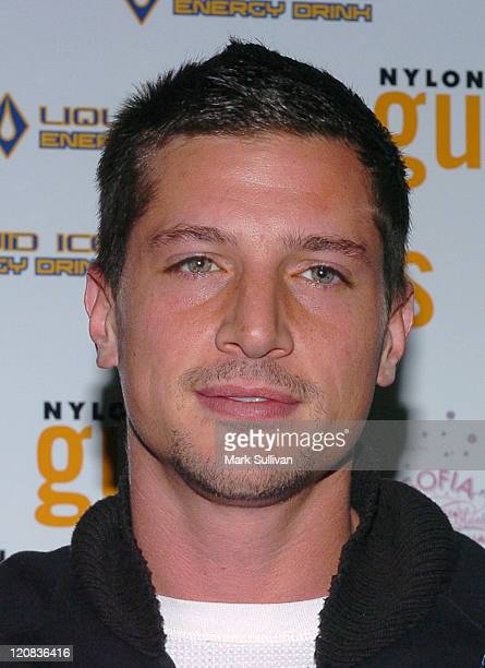 Simon Rex during Nylon Guys Magazine Launch Party at Tokio in Hollywood California United States