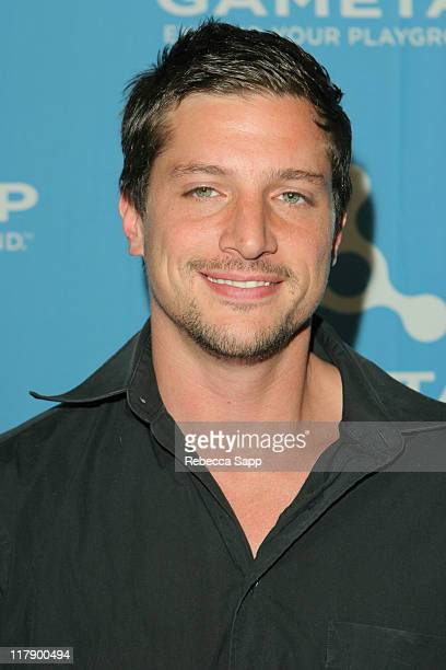 Simon Rex during Official Unveiling of Turner's GameTap at Figueroa Hotel in Los Angeles CA United States