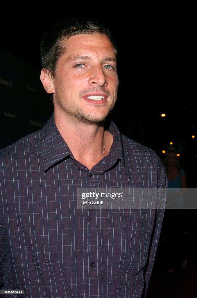 Simon Rex during Playstation 2 Offers A Passage Into 'The Underworld' - Red Carpet at Blecsco Theater in Los Angeles, California, United States.
