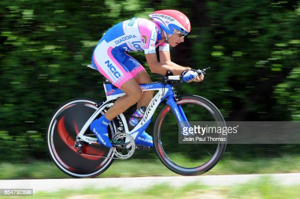 Simon SPILAK LAMPRE Dauphine Libere 2009 Etape 4 Contre la Montre individuel Bourg les Valence / Valence