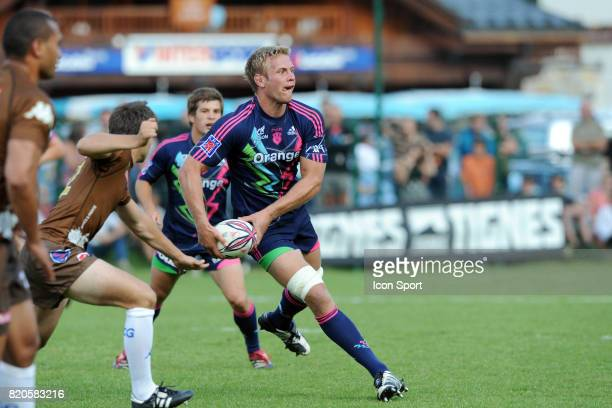 Simon TAYLOR Grenoble / Stade Francais Match amical