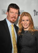 Simon Van Kempen and Alex McCord attend the S Kuhlman collection launch at the S Kuhlman Boutique on October 29 2009 in New York City
