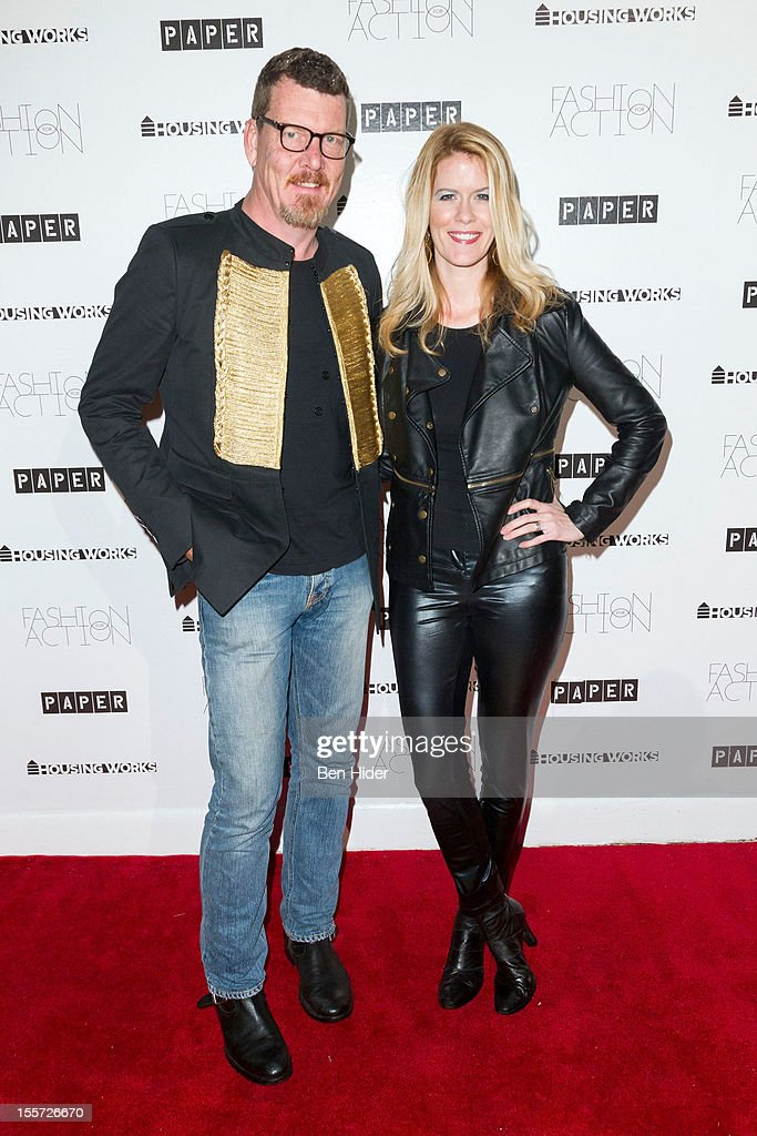 Simon Van Kempen and Alex Mccord attends Fashion for Action 2012 at the Altman Building on November 7, 2012 in New York City.