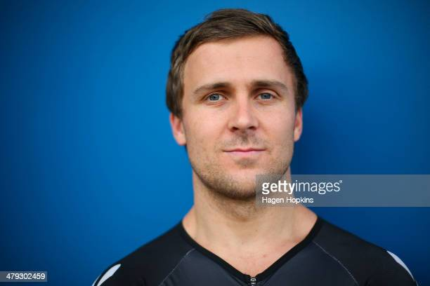 Simon van Velthooven poses during the New Zealand Olympic Committee Glasgow Workshop at Stadium Southland on November 14 2013 in Invercargill New...