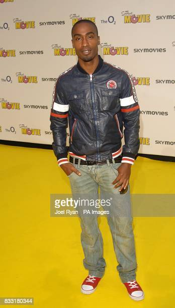 Simon Webbe arrives for the UK Premiere of The Simpsons Movie at the Vue Cinema The O2 Peninsula Square London