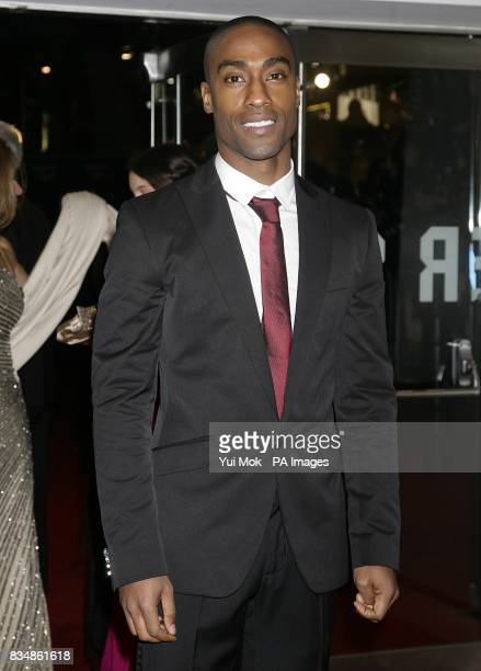 Simon Webbe arrives for the World premiere of 'Quantum Of Solace' at the Odeon Leicester Square WC2