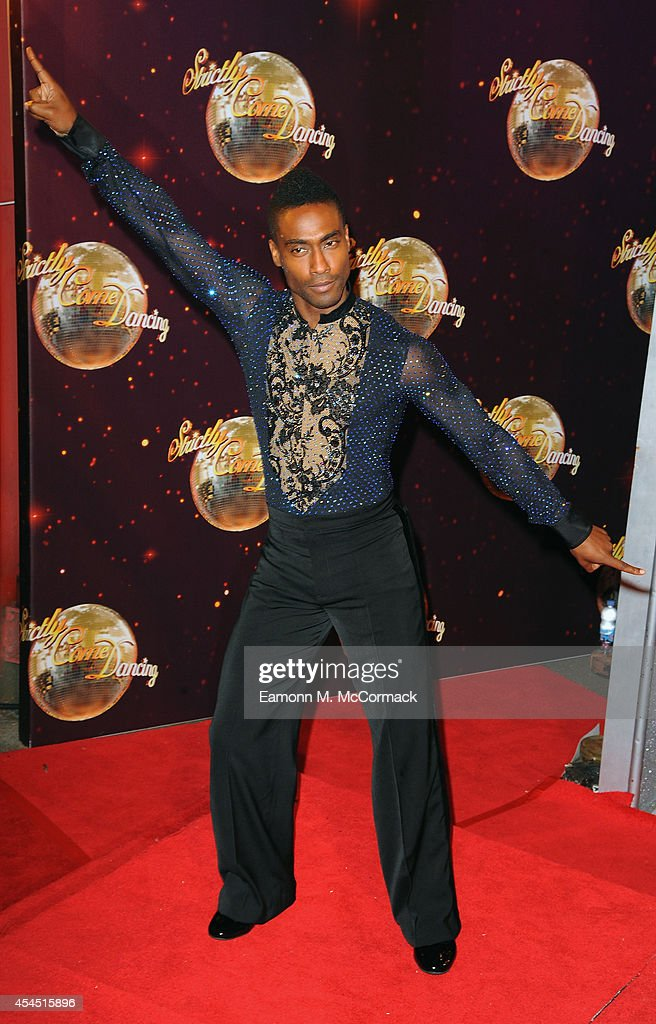 <a gi-track='captionPersonalityLinkClicked' href=/galleries/search?phrase=Simon+Webbe&family=editorial&specificpeople=175939 ng-click='$event.stopPropagation()'>Simon Webbe</a> attends the red carpet launch for 'Strictly Come Dancing' 2014 at Elstree Studios on September 2, 2014 in Borehamwood, England.