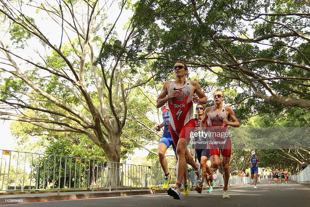 ITU World Triathlon Series - Race 1: Sydney