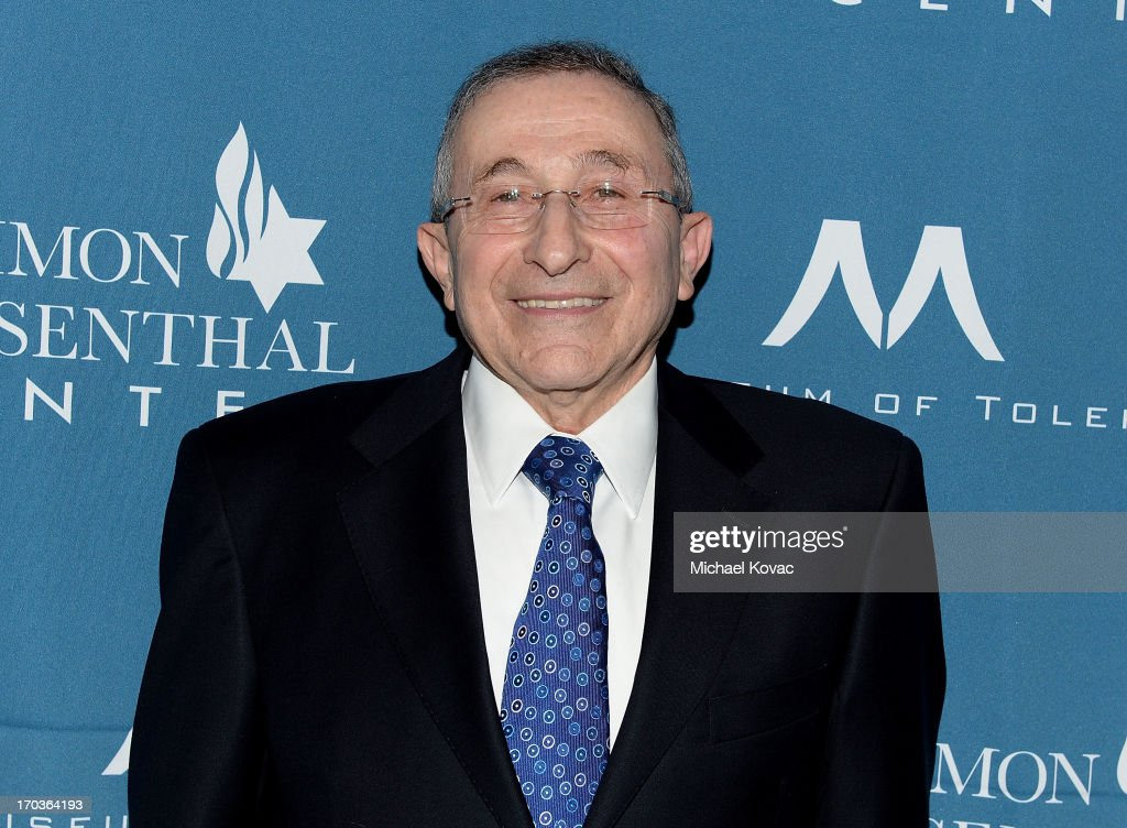 Simon Wiesenthal Center Founder Rabbi Marvin Hier arrives at the Simon Wiesenthal Center National Tribute Dinner at Regent Beverly Wilshire Hotel on June 11, 2013 in Beverly Hills, California.