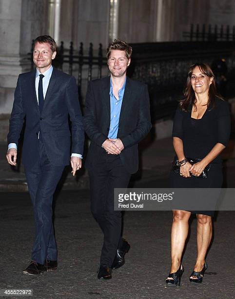 Simon Woods Christopher Bailey Stock Photos And Pictures Getty Images