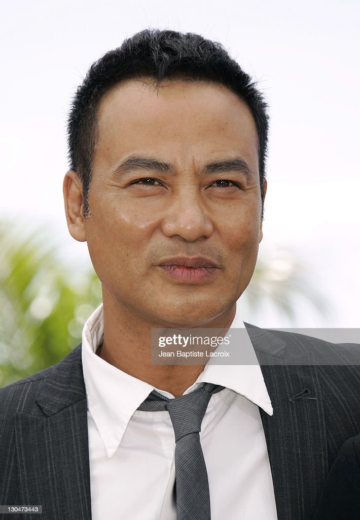 Simon Yam during 2007 Cannes Film Festival - 'Triangle' Photocall at Palais des Festivals in Cannes, France, France.