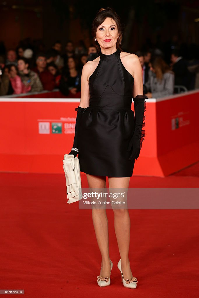 Simona Caparrini attends 'Romeo And Juliet' Premiere during The 8th Rome Film Festival at Auditorium Parco Della Musica on November 11, 2013 in Rome, Italy.