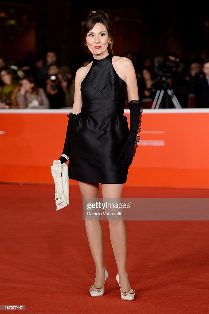 Simona Caparrini attends 'Romeo And Juliet' Premiere during The 8th Rome Film Festival on November 11, 2013 in Rome, Italy.
