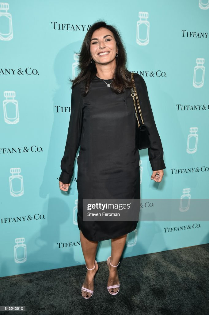 Simona Cattaneo attends the Tiffany & Co. Fragrance launch event on September 6, 2017 in New York City.