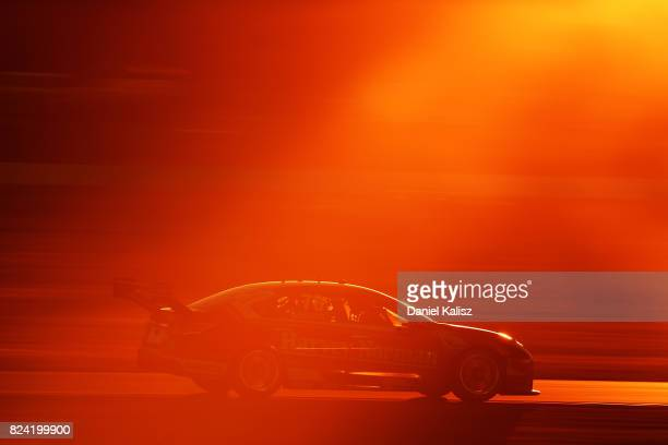 Simona de Silvestro drives the Team Harvey Norman Nissan Altima during race 15 for the Ipswich SuperSprint which is part of the Supercars...
