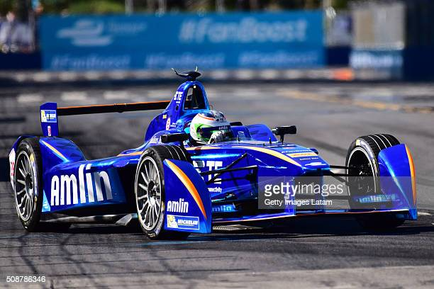 Simona de Silvestro of Andretti Formula E Team during the Buenos Aires ePrix as part of 20152016 FIA Formula E Championship at Puerto Madero Street...