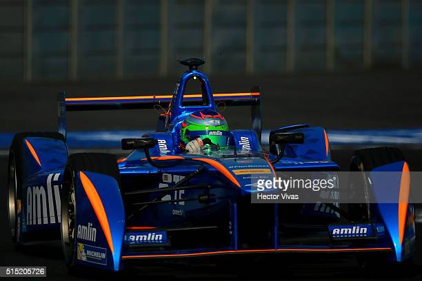 Simona De Silvestro of Switzerland and Andretti Formula E Race Team during the Mexico City Formula E Championship 2016 at Autodromo Hermanos...