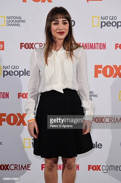Simona Tabasco attends the Fox Channels Party at Palazzo Del Ghiaccio on December 2 2015 in Milan Italy