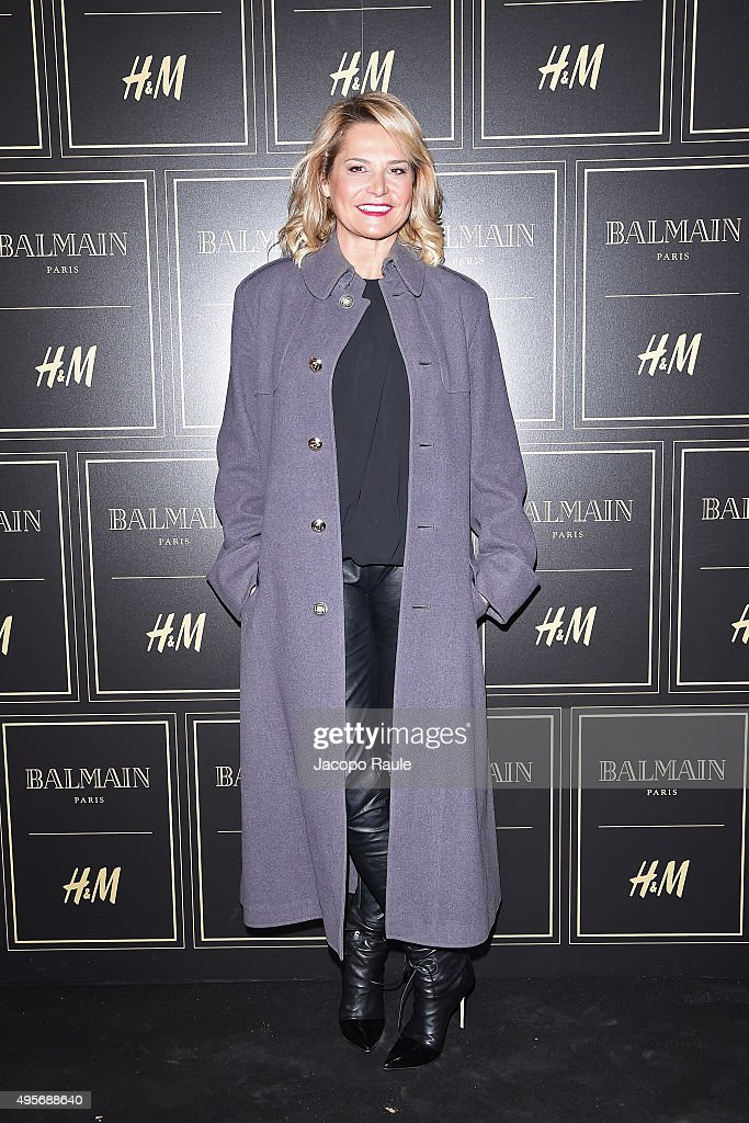Balmain For H&M Collection Preview Photocall