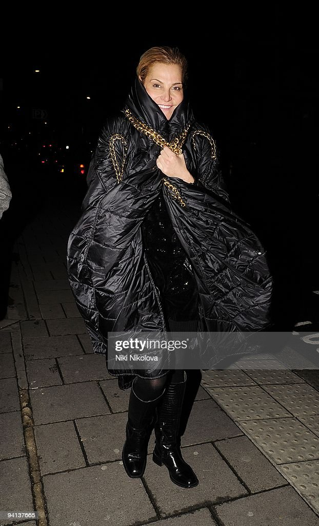 Celebrity Sightings In London - December 07, 2009