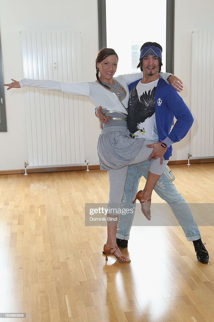 <a gi-track='captionPersonalityLinkClicked' href=/galleries/search?phrase=Simone+Ballack&family=editorial&specificpeople=554497 ng-click='$event.stopPropagation()'>Simone Ballack</a> and Erich Klann pose at a photo call for the sixth season on Germany's RTL network competition 'Let's Dance' on March 26, 2013 in Starnberg, Germany.