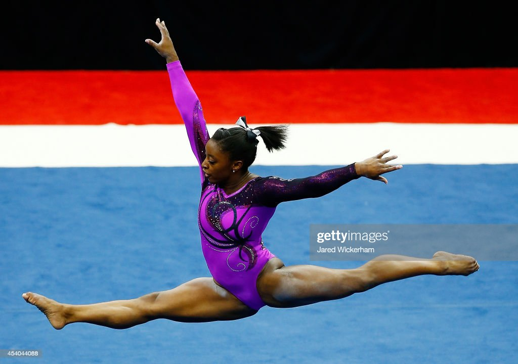 Gymnastics championships getty images for Floor gymnastics