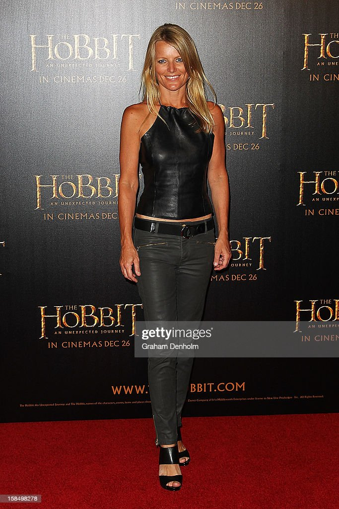 Simone Callahan attends the Melbourne premiere of 'The Hobbit: An Unexpected Journey' at Village Cinemas on December 18, 2012 in Melbourne, Australia.