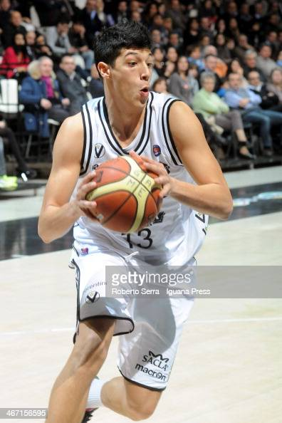 Simone Fontecchio of Granarolo in action during the LegaBasket Serie A1 match between Granarolo Bologna and Vanoli Cremona at Unipol Arena on January...
