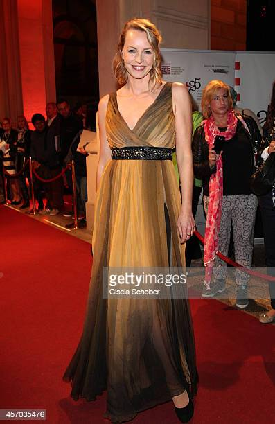 Simone Hanselmann attends the Hessian Film And Cinema Award 2014 on October 10 2014 at Alte Oper in Frankfurt am Main Germany