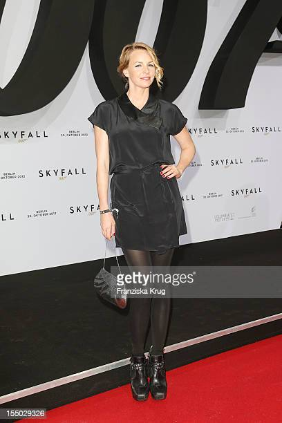 Simone Hanselmann attends the 'Skyfall' Germany Premiere at Theater am Potsdamer Platz on October 30 2012 in Berlin Germany