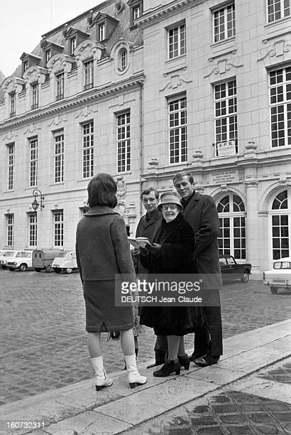Simone Meyenbourg 80 Year's Old Student At The Sorbonne Paris 30 novembre 1965 Rencontre avec Simon MEYENBOURG étudiante à la Sorbonne à 80 ans...
