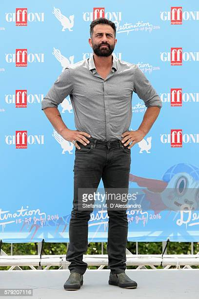 Simone Montedoro attends the Giffoni Film Festival photocall on July 23 2016 in Giffoni Valle Piana Italy
