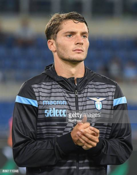 Simone Palombi during the Italian Serie A football match SS Lazio vs Spal at the Olympic Stadium in Rome august on 20 2017