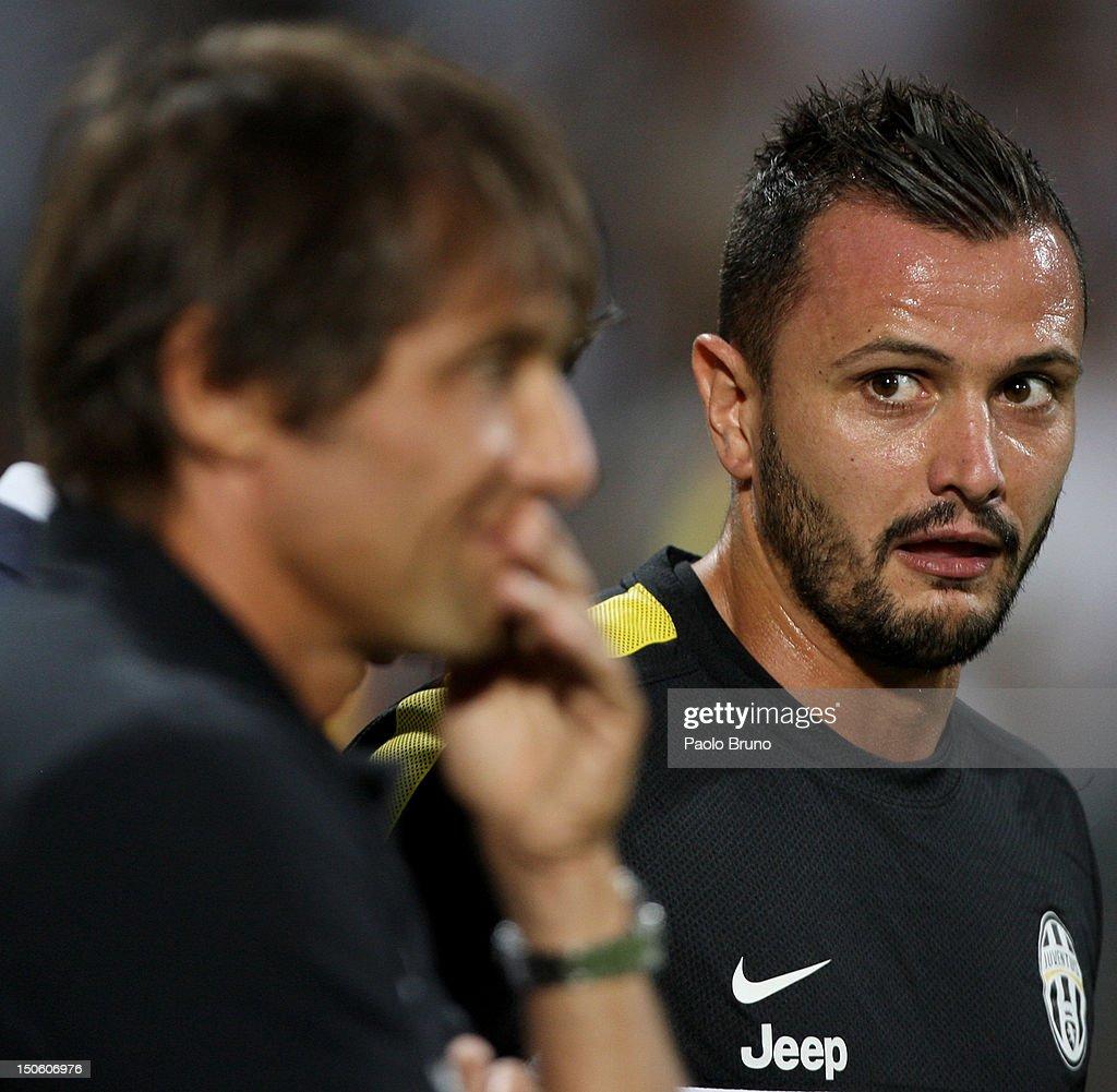 FC Juventus v Malaga CF - Pre-Season Friendly