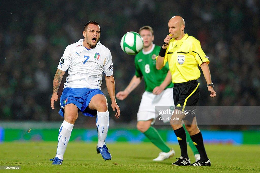 Northern Ireland v Italy - EURO 2012 Qualifier