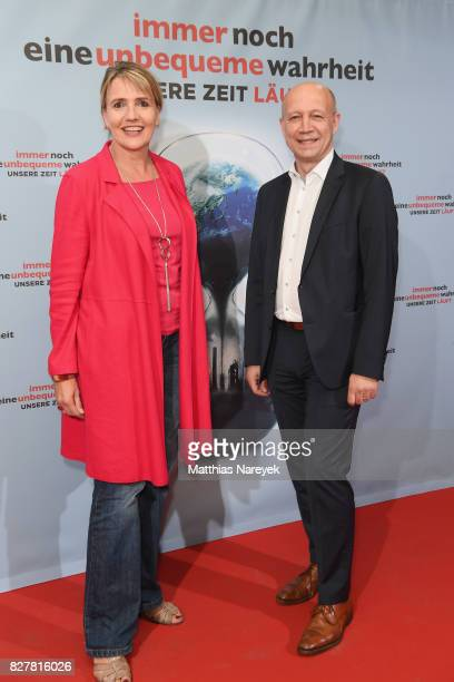 Simone Peter and Andreas Kuhlmann attend a special screening of 'An Inconvenient Sequel Truth to Power' at Zoo Palast on August 8 2017 in Berlin...