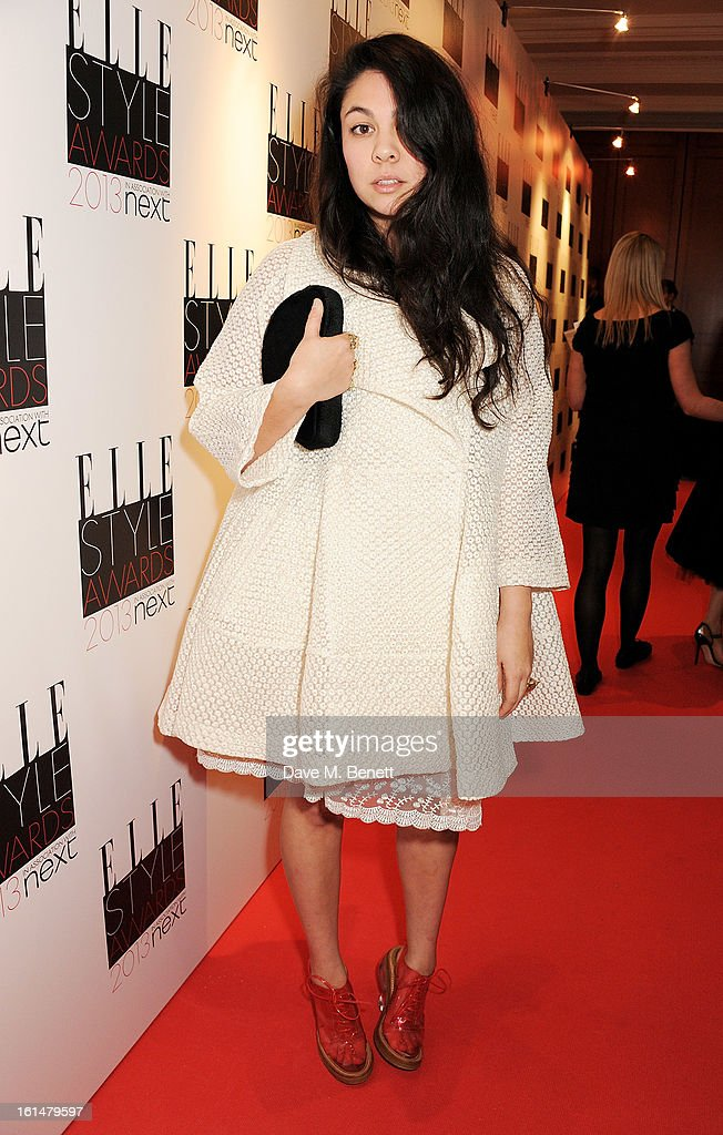 Simone Rocha arrives at the Elle Style Awards at The Savoy Hotel on February 11, 2013 in London, England.