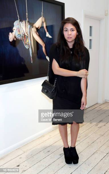Simone Rocha attends a private view of the Nobuyoshi Araki exhibition at the Michael Hoppen Gallery on May 1 2013 in London England