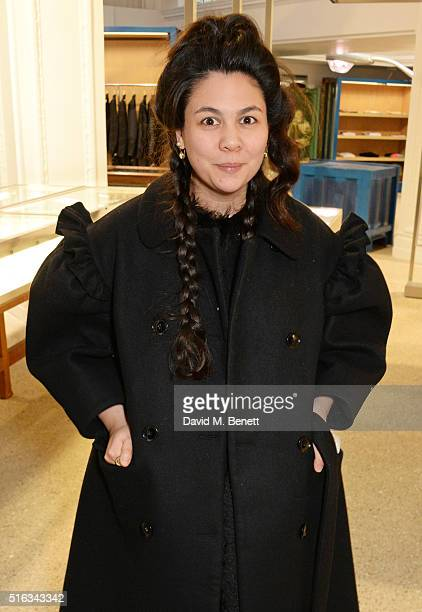 Simone Rocha attends an exclusive VIP preview of the Dover Street Market on March 18 2016 in London England