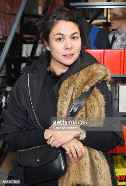Simone Rocha attends the Dover Street Market open house on October 6 2017 in London England
