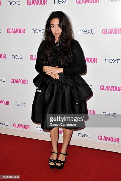 Simone Rocha attends the Glamour Women of the Year Awards at Berkeley Square Gardens on June 3 2014 in London England