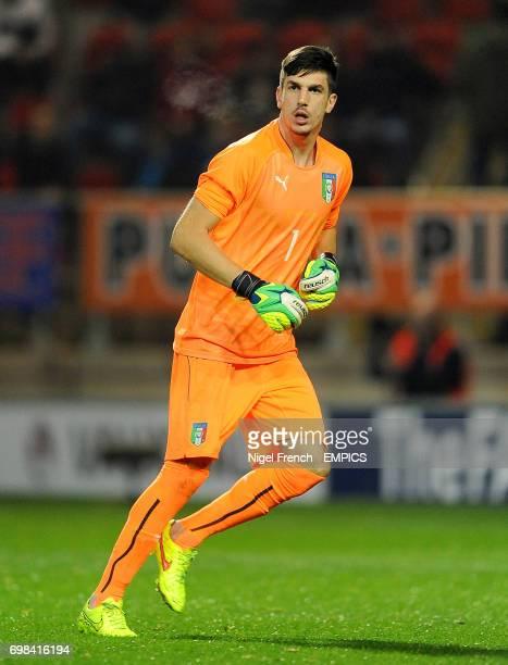 Simone Scuffet Italy goalkeeper