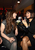 Simone Thomalla and Verona Pooth attend the 'Ein Herz fuer Kinder' Charity gala after party on December 17 2011 in Berlin Germany
