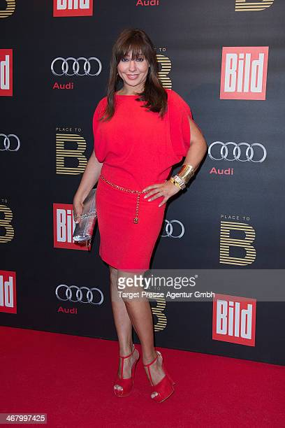 Simone Thomalla attends the BILD 'Place to B' Party at Grill Royal on February 8 2014 in Berlin Germany