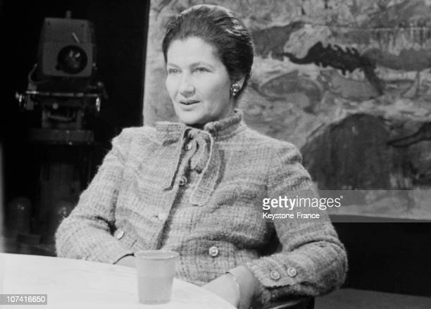 Simone Veil French Minister Of Health And Family