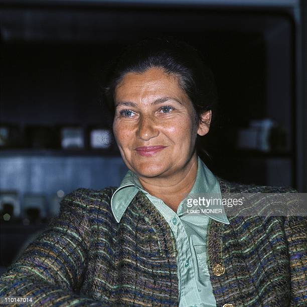 Simone Veil In France In April 1989